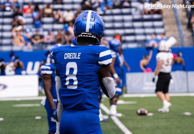 Panthers Explode on Offense, Run Away with 55-21 Win Over ULM