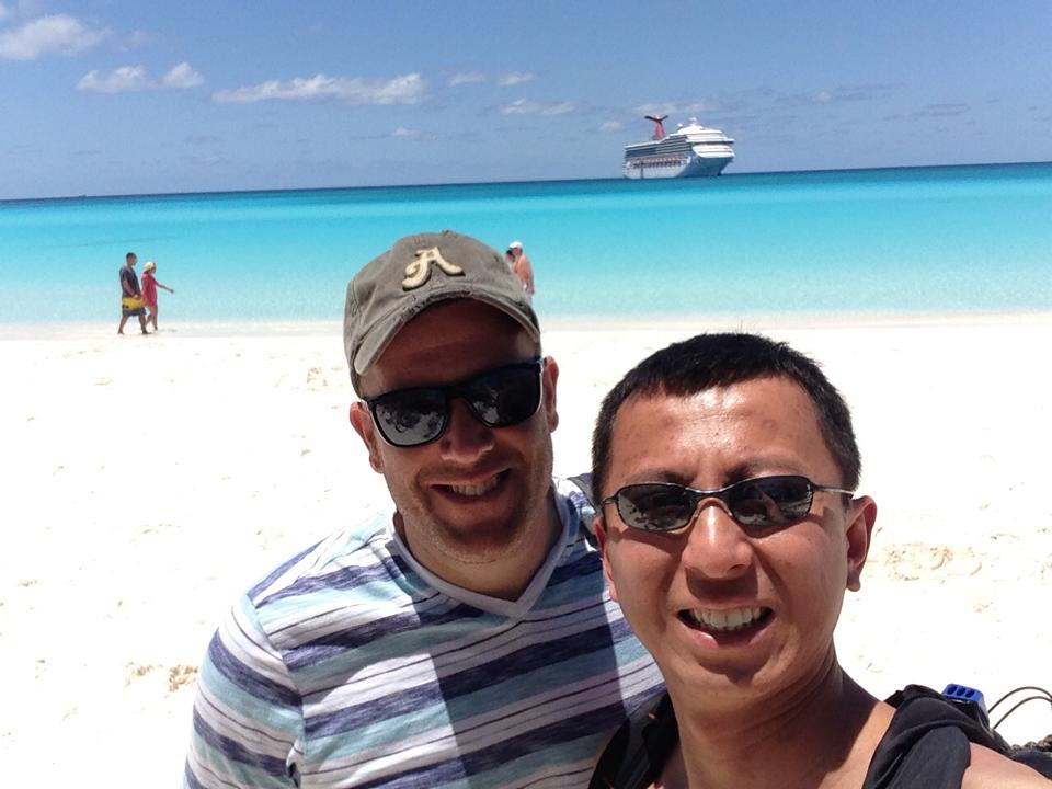 Round the World can include cruise ships! Sometimes, though rarely, we cruise together!
