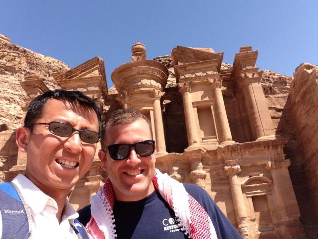 Round the World includes antiquity! We love World Heritage Sites, like Petra!