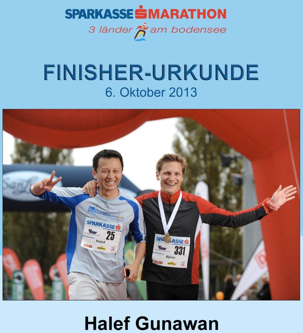 Seven Marathons on Seven Continents - Europe
