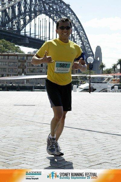 Seven Marathons on Seven Continents - Sydney Australia