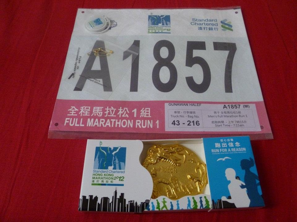 Seven Marathons on Seven Continents - Hong Kong