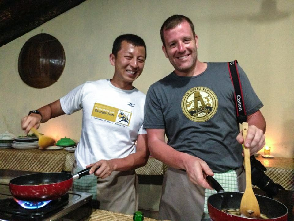 Bali Cooking Class - Your chefs, Michael & Halef