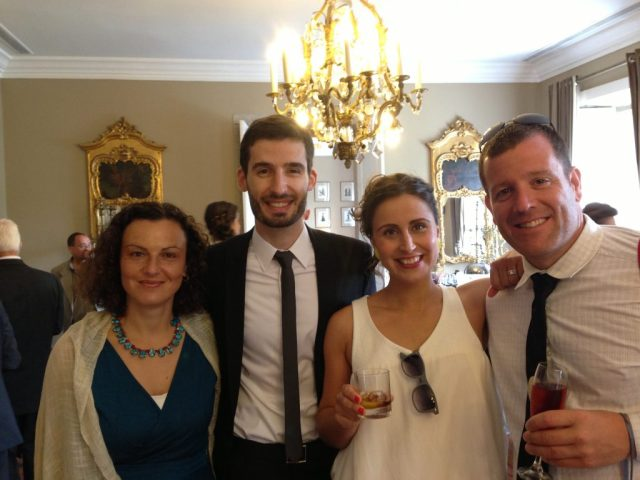 Portuguese Wedding: Cleaned up pretty nicely!
