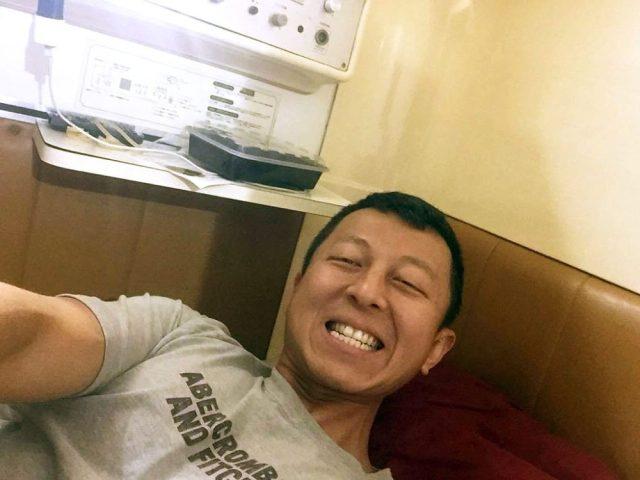 Japanese capsule hotel - Inside my Capsule Hotel pod