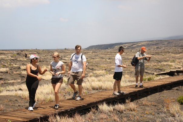 Hiking on the Big Island with Couchsurfers in Hawaii