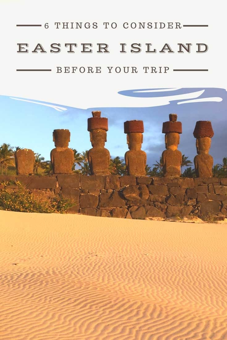 You've always wanted to plan an Easter Island getaway. What should you consider before planning your trip. What should you consider in your budget?