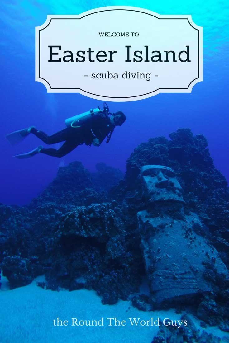 SCUBA Diving on Easter Island is one of the highlights of your trip to this remote location. Its underwater world, including a Moai, is a must visit. Check out some of the companies that offer diving, and some of the locations you'll dive on Easter Island.