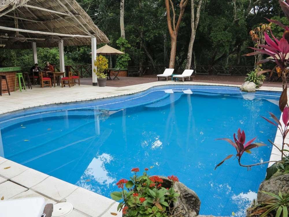 Jungle Lodge Hotel swimming pool