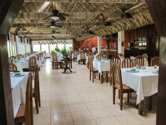 Jungle Lodge Hotel restaurant