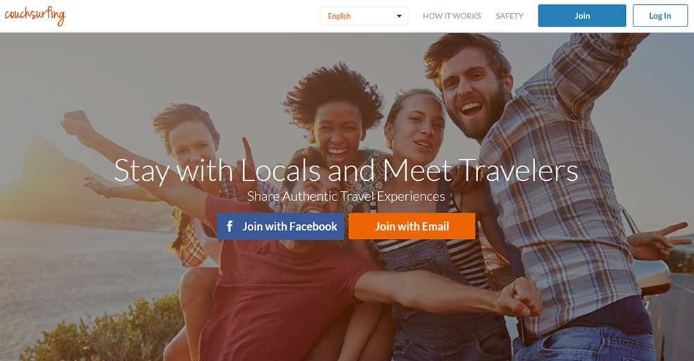 Create a great Couchsurfing Profile