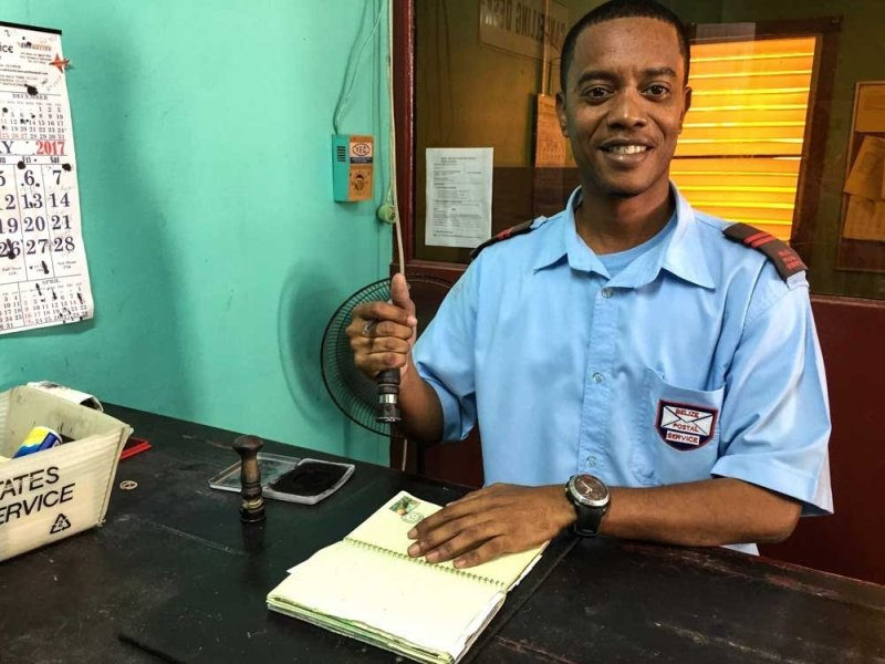 Belize City Postal Clerk