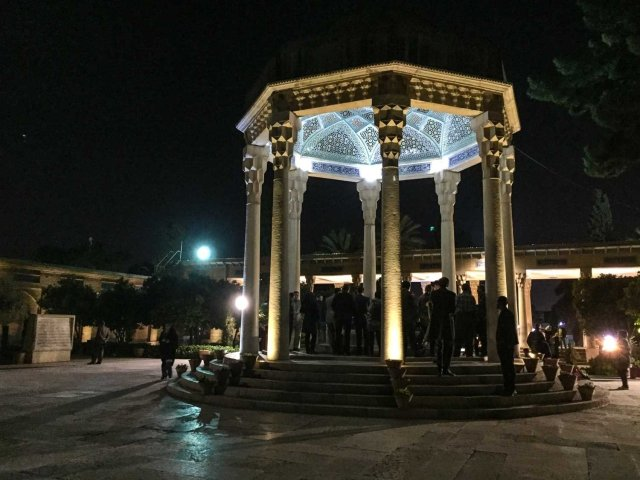 Things to see in Shiraz - Hafez tomb