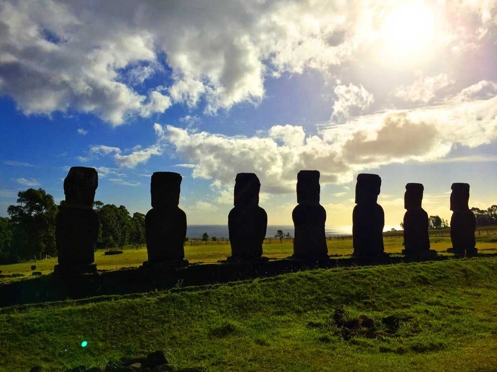 Highlights of Easter Island - Ahu Ahiki moais
