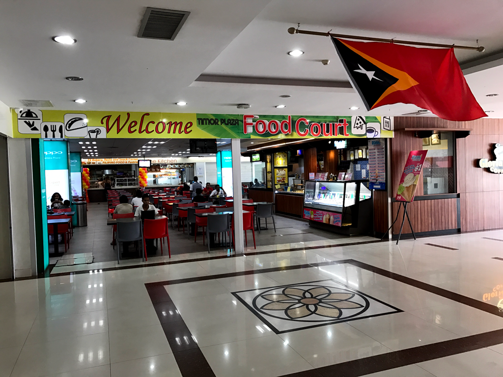 things to do in Dili - Timor Leste plaza food court