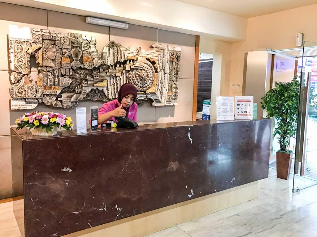 Premier lounge in Jakarta