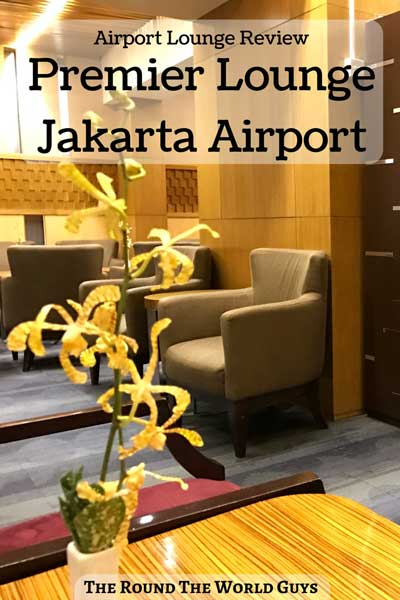 If you have several hours to kill at the Jakarta International Airport, you definitely need to check out the Premier Lounge Jakarta. It's a nice oasis from the heat, with great food and drinks, at CGK airport.