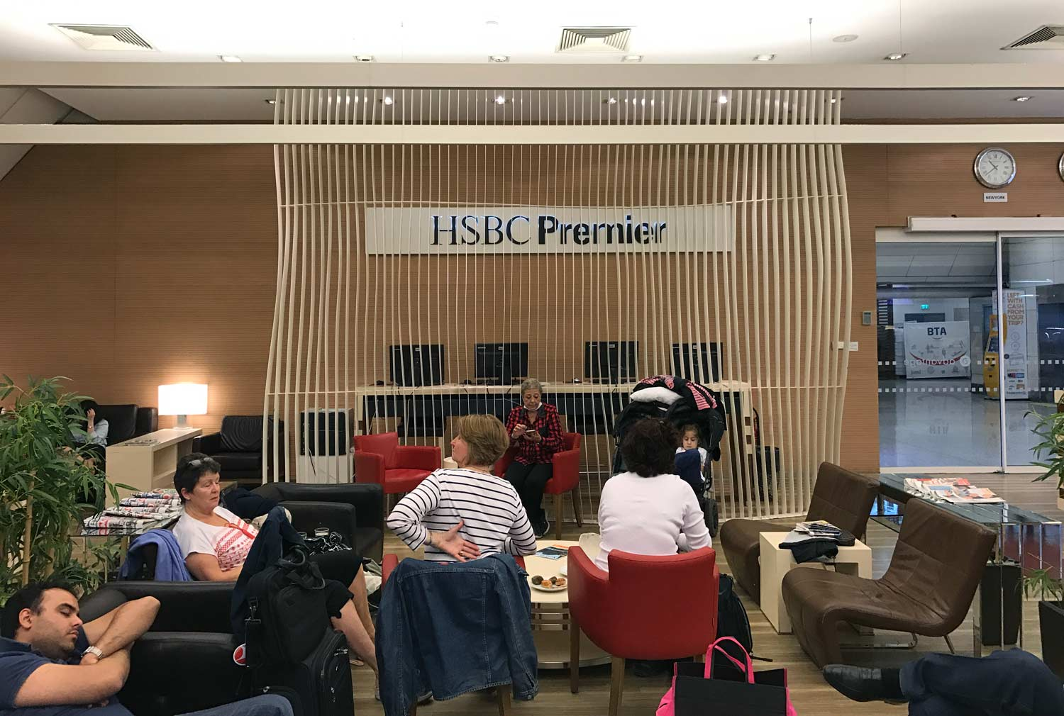 HSBC Premier Lounge Istanbul Review - Priority Pass Lounge at IST
