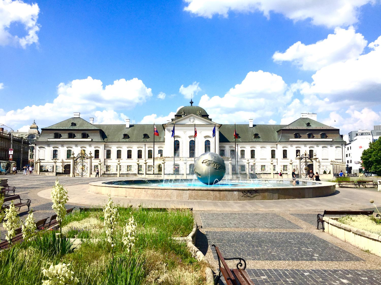 Grassalkovich Palace exterior