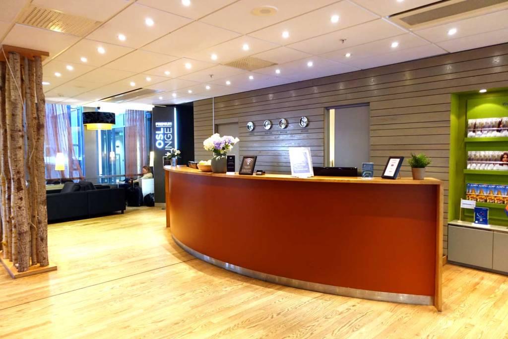 OSL Lounge reception