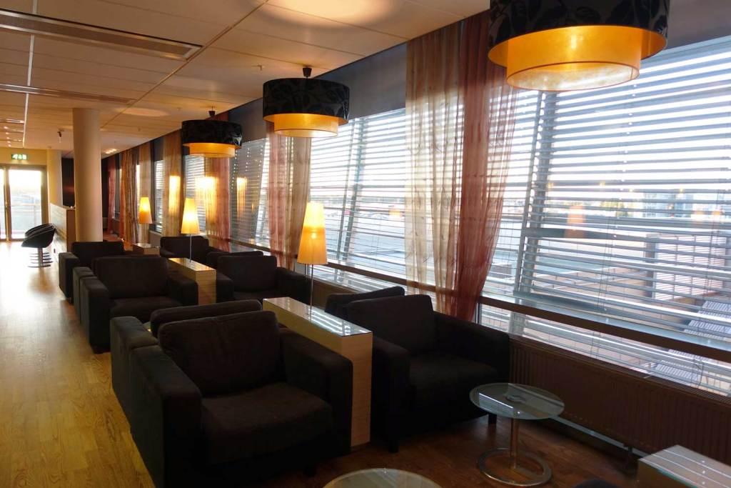 OSL Lounge plush seating