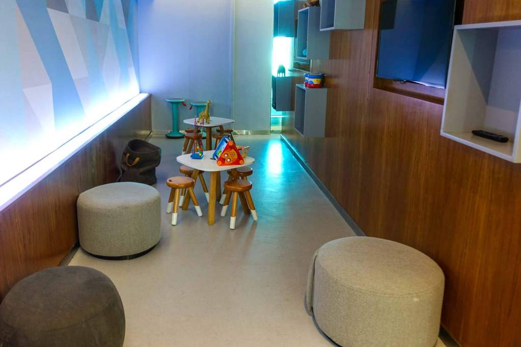 Childrens play area at Centurion lounge EZE