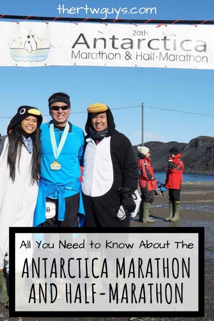 antarctica marathon halef at finish line pinterest