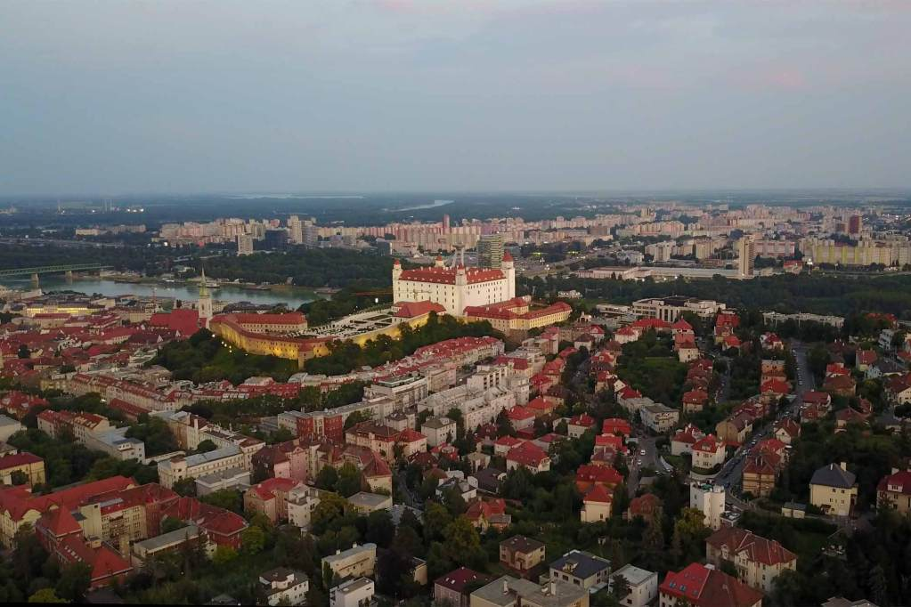 Bratislava from above