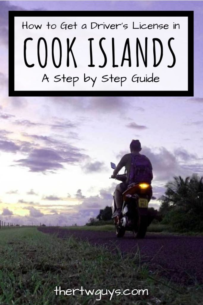 cook islands drivers license pinterest