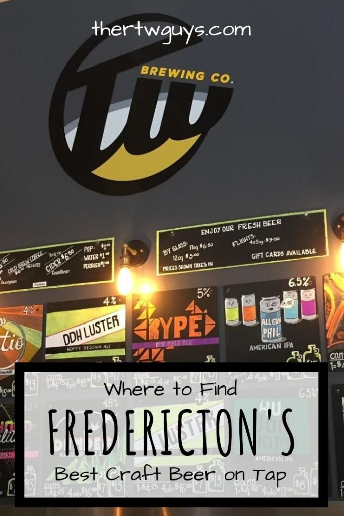 fredericton craft beer pinterest