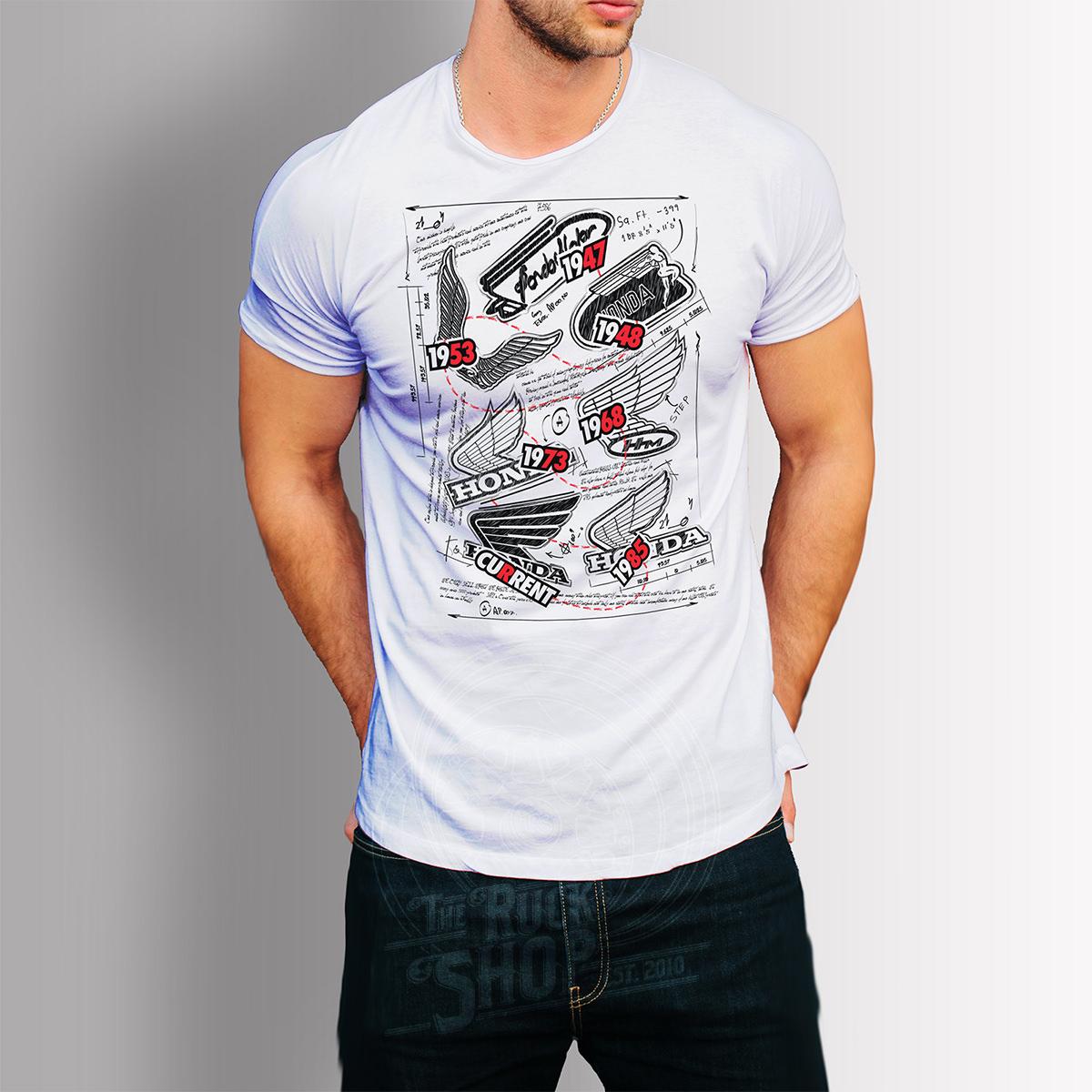 Honda Legacy thru Time shirt 60/40 Blend Premium Shirt S-3XL 2 colors – The Ruck Shop
