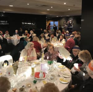 Contact the Elderly Christmas Lunch Dec 2017