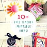 SUPER, SIMPLE Teacher Appreciation Printables!