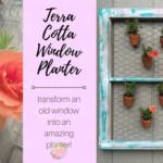 Terra Cotta Window Planter
