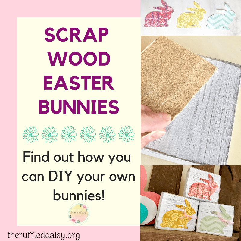 Scrap Wood Easter Bunnies