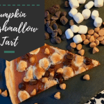 Butterscotch Marshmallow Pumpkin Tart