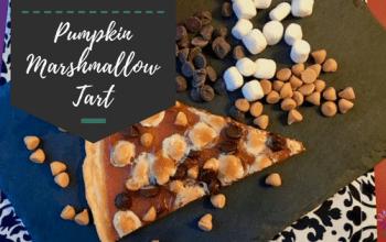 Butterscotch Marshmallow Pumpkin Tart