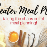 Cheater Meal Planning with FREE Download!