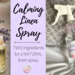 Calming Linen Spray DIY