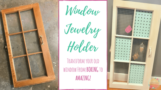 DIY Window Jewelry Holder FB