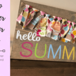Hello Summer Banner Sign