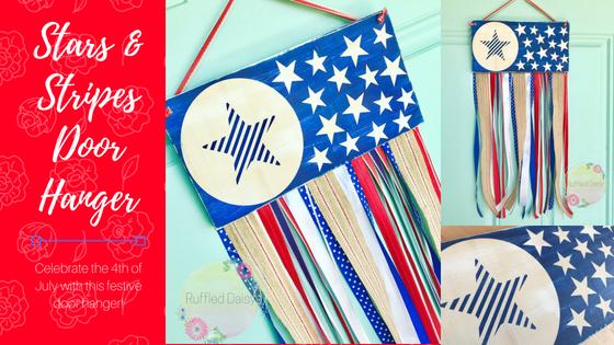 Stars & Stripes Door Hanger DIY