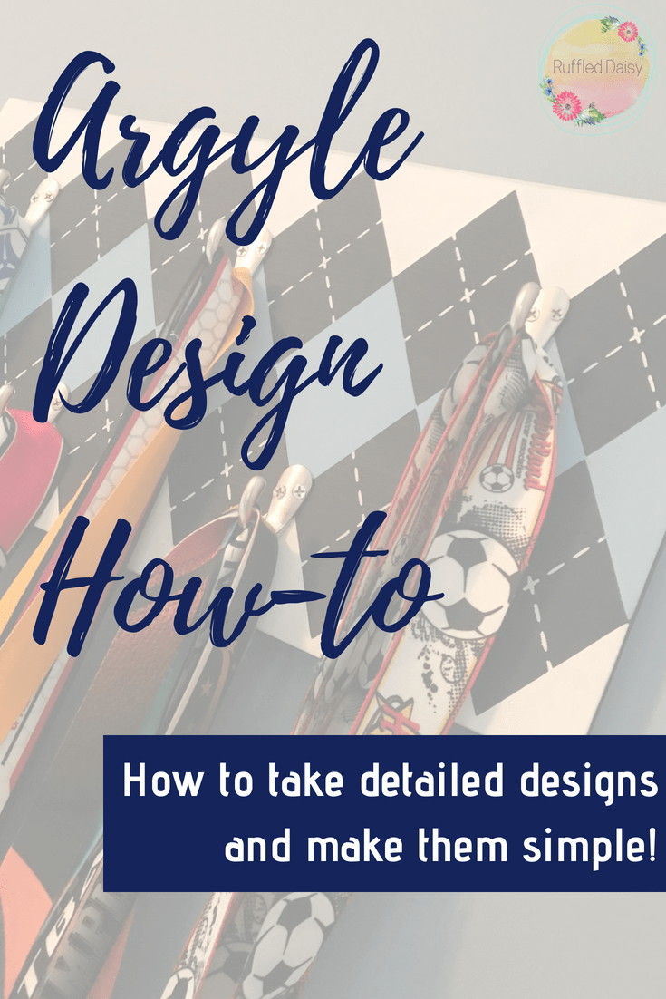 Easy Argyle Design DIY PIN