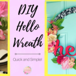 Quick and Easy HELLO Wreath