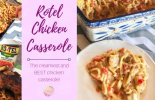 Rotel Chicken Casserole