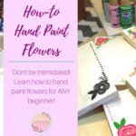 Learn How To Hand Paint Flowers The Easy Way