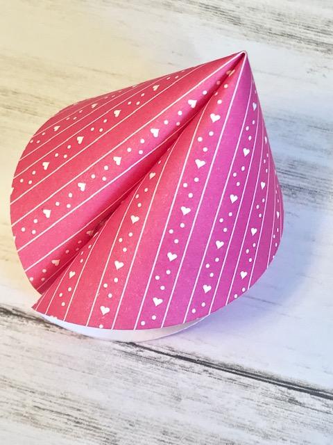 Valentine's Fortune Cookie DIY