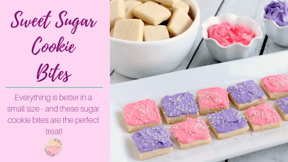 Petite Sweet Sugar Cookie Bites