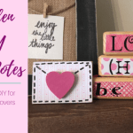 Wooden Love Notes DIY