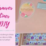 Drawer Liner DIY